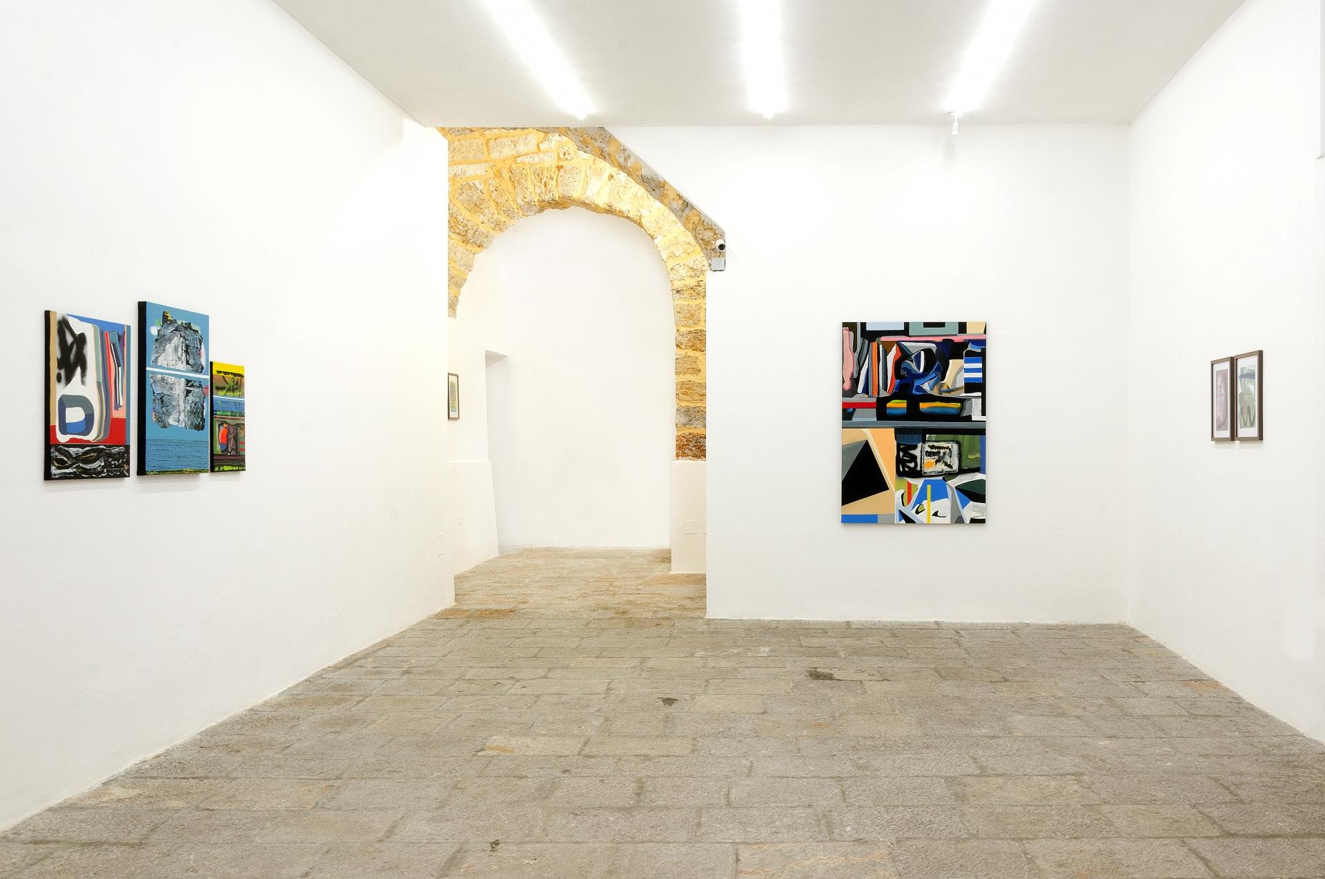 Vincenzo Ferlita - Astratto concreto - Installation view