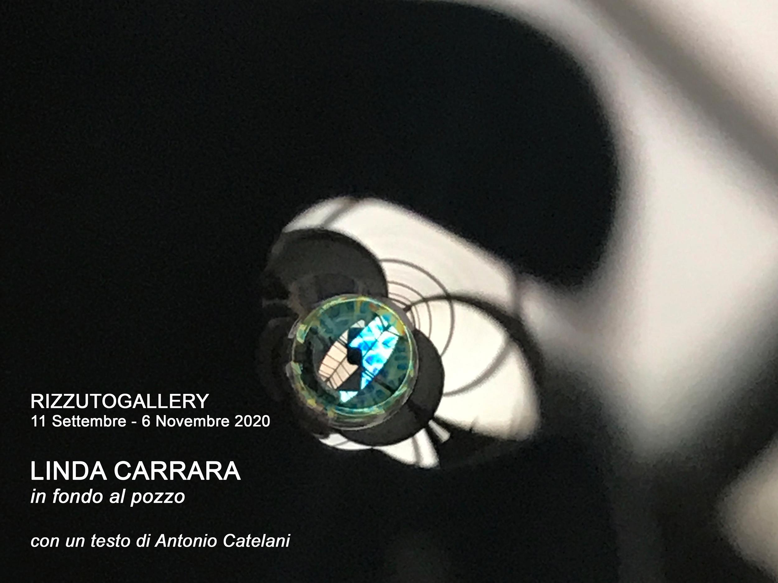 Linda Carrara - In fondo al pozzo - Flyer
