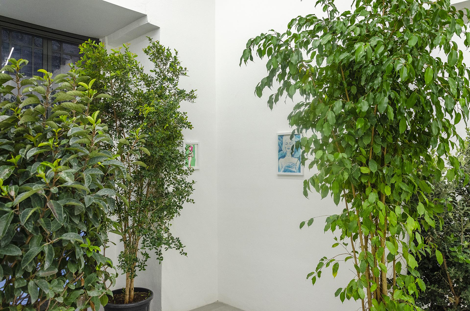 Luigi Presicce - Homo Sapiens Sapiens Sapiens - Installation view - Vista dell'installazione - Exhibition - Mostra personale - RizzutoGallery - Palermo